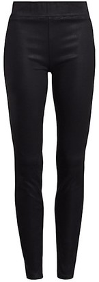 L'Agence Rochelle High Rise Coated Skinny Leggings