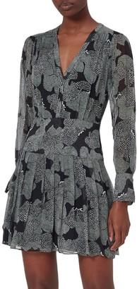 Equipment Lisle Long-Sleeve Dress