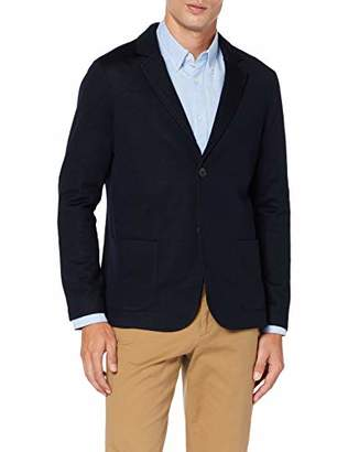 Jack /& Jones Mens Manuel Blazer Premium Blue Blazer Navy in Size EU 54 L