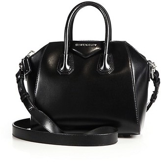 Givenchy Mini Antigona Leather Satchel