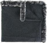 N.Peal cashmere woven shawl - women - Rabbit Fur/Cashmere - One Size