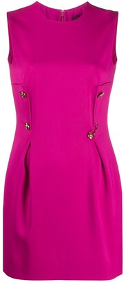 Versace Safety Pin short dress