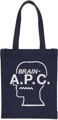 A.P.C. X Brain Dead - Tote Brain Dead - Denim