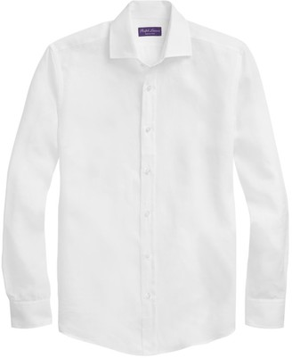 Ralph Lauren Purple Label Classic Linen Sport Shirt