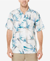 Cubavera Men's 100% Linen Tropical Foliage Shirt