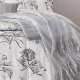Sanderson Etchings & Roses Knitted Throw