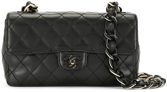 Chanel Pre Owned 2001 plastic chain crossbody bag