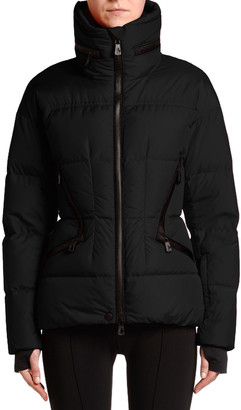MONCLER GRENOBLE Stand-Collar Fitted Down Dixence Jacket