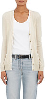 Barneys New York Women's Tipped Cashmere Cardigan-TAN