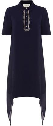 Damsel in a Dress Rosanna Embellished Tunic Shirt Dress