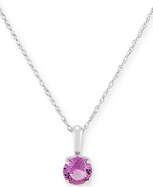 Macy's Birthstone Pendant in 14k Gold or White Gold