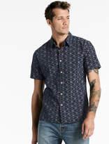 Lucky Brand Ikat Aloha Shirt