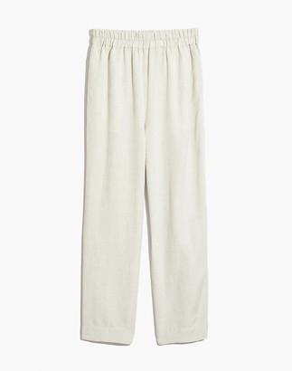 Madewell Petite Tapered Huston Pull-On Crop Pants