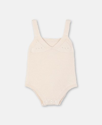 Stella Mccartney Kids Bunny Knit Body, Unisex