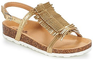 Citrouille et Compagnie ITELOL girls's Sandals in Gold