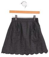 Rachel Riley Girls' Wool Scalloped Skirt w/ Tags