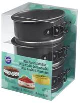Wilton 3 Piece Mini Springform Pan Set - Black