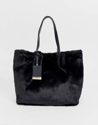 Carvela Furly large tote in black