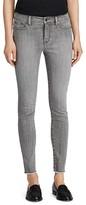 Lauren Ralph Lauren Frayed Skinny Jeans in Storm Gray