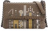 Bottega Veneta Olimpia Tower Intrecciato Shoulder Bag