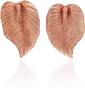 Rosegold Luisa Schroder Peace Lily Rose-Gold Earrings