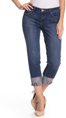 Jag Jeans Carted Embroidered Hem Jeans