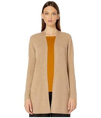 Eileen Fisher Italian Cashmere Simple Cardigan