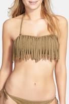 Volcom Smoke Signals Bandeau Bikini Top