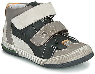 GBB PATRICK boys's Shoes (High-top Trainers) in Grey