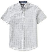 Michael Kors Tate Printed Short-Sleeve Woven Shirt