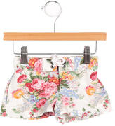 Ralph Lauren Girls' Floral Print Shorts