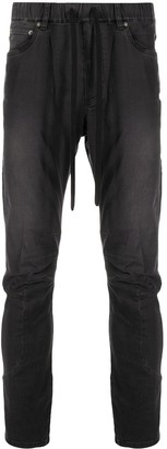 Attachment Drawstring Elasticated Jeans