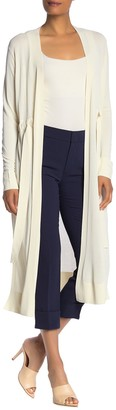 Lafayette 148 New York Relaxed Duster Cardigan