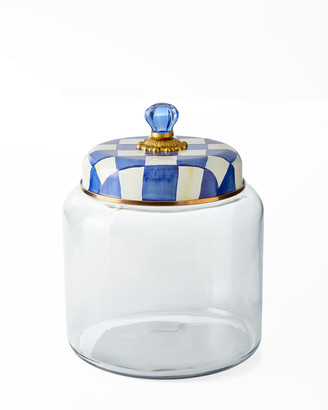 Mackenzie Childs Royal Check Storage Canister
