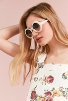 Urban Outfitters Edie Retro Round Sunglasses
