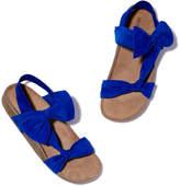 Ulla Johnson Abril Slide Sandal in Cobalt