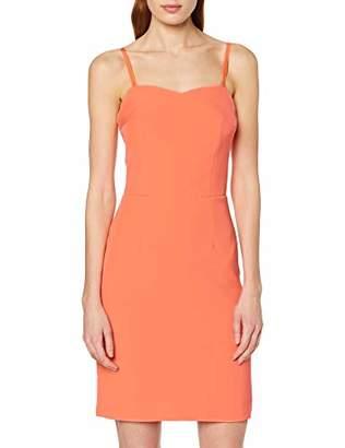 Vila CLOTHES Women's Vilyca Strap Dress/dc/STU Black, (Size: 36)
