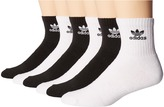 adidas Originals Trefoil Quarter Sock 6-Pack Men's Quarter Length Socks Shoes