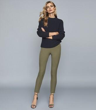 Reiss Tyne - Skinny Trousers in Khaki