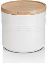 Le Creuset Xl Storage Jar With Wood Lid