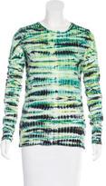 Proenza Schouler Tie-Dye Print Crew Neck T-Shirt