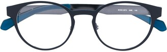 HUGO BOSS Round Frame Glasses