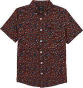 RVCA Costello Floral Button-Down Shirt
