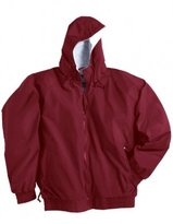 Tri-Mountain Men's Big And Tall Waterproof Shell Zipper Jacket