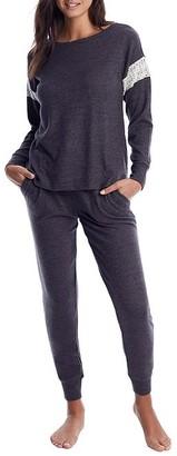 Flora Nikrooz Alexandra Brushed Knit Pajama Set