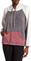 Vintage Havana Colorblock Fleece Lined Hoodie