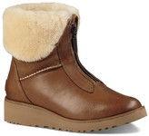 UGG Caleigh Leather and Sheepskin Booties