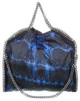 Stella McCartney Falabella Tie-Dye Satin Small Fold-Over Tote