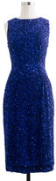 J.Crew Collection blue sequin dress