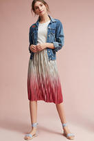 Seen Worn Kept Ombre Pleated Skirt